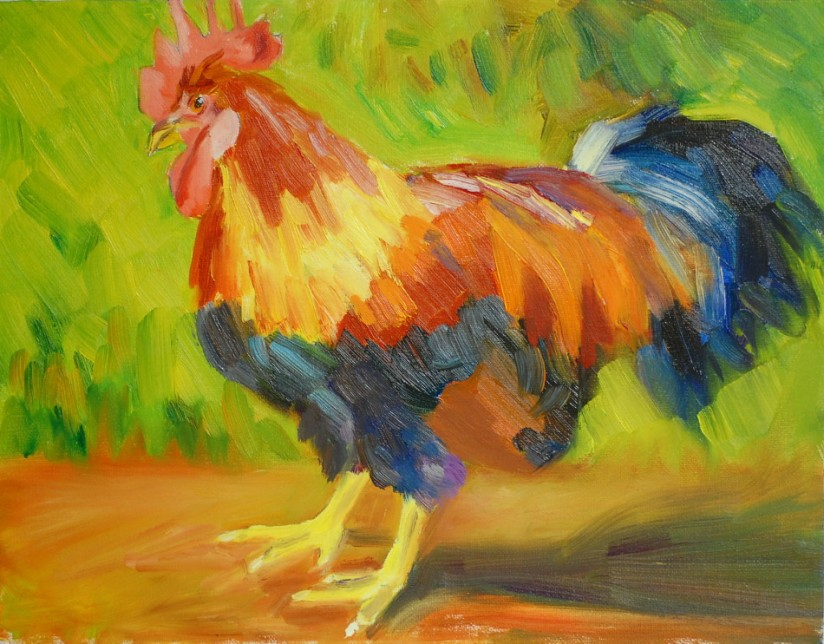 Great Frederick Fair Rooster