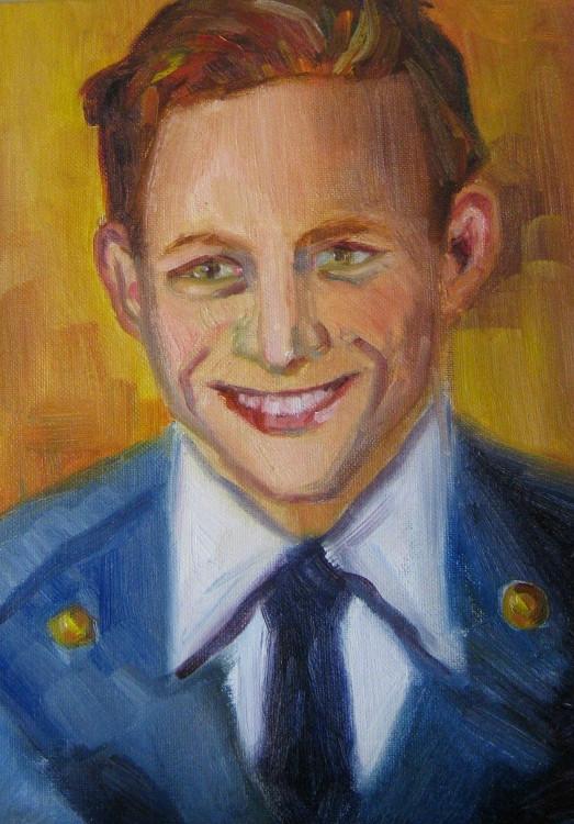 Dad in U.S. Air Force Uniform