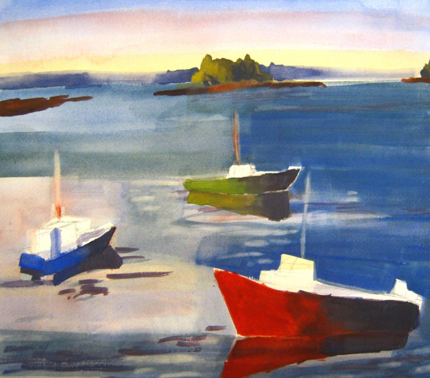 colorful-boats-in-maine