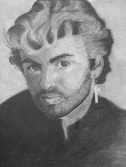 George Michael 1 in progress