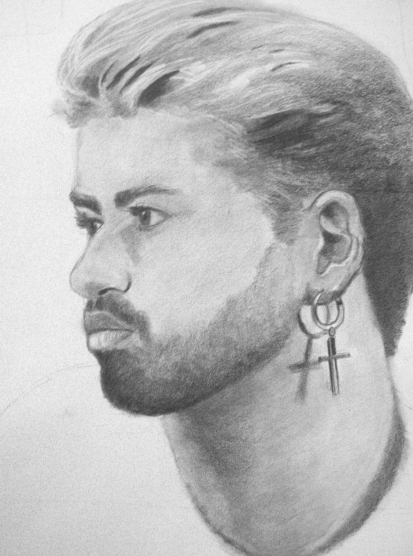 George Michael 2, in progress