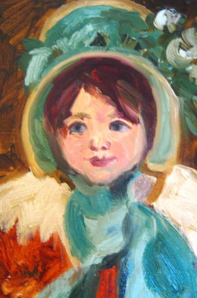 Sarah, After Mary Cassatt