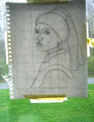 Vermeer Copy Light Box