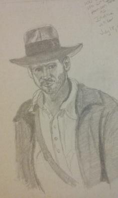 "Harrison Ford as ""Indiana Jones"""
