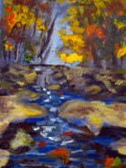 Completed Painting,Catoctin Creek