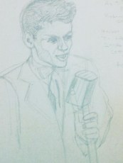 Frank Sinatra singing, As Times Goes By