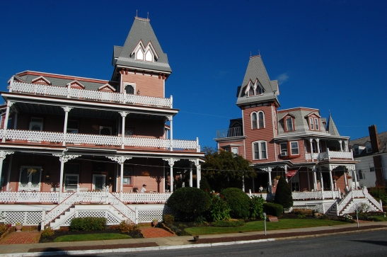 Angel of the Sea, Bed and Breakfast, Cape May, New Jersey.