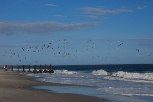 Cape May, New Jersey Beach.