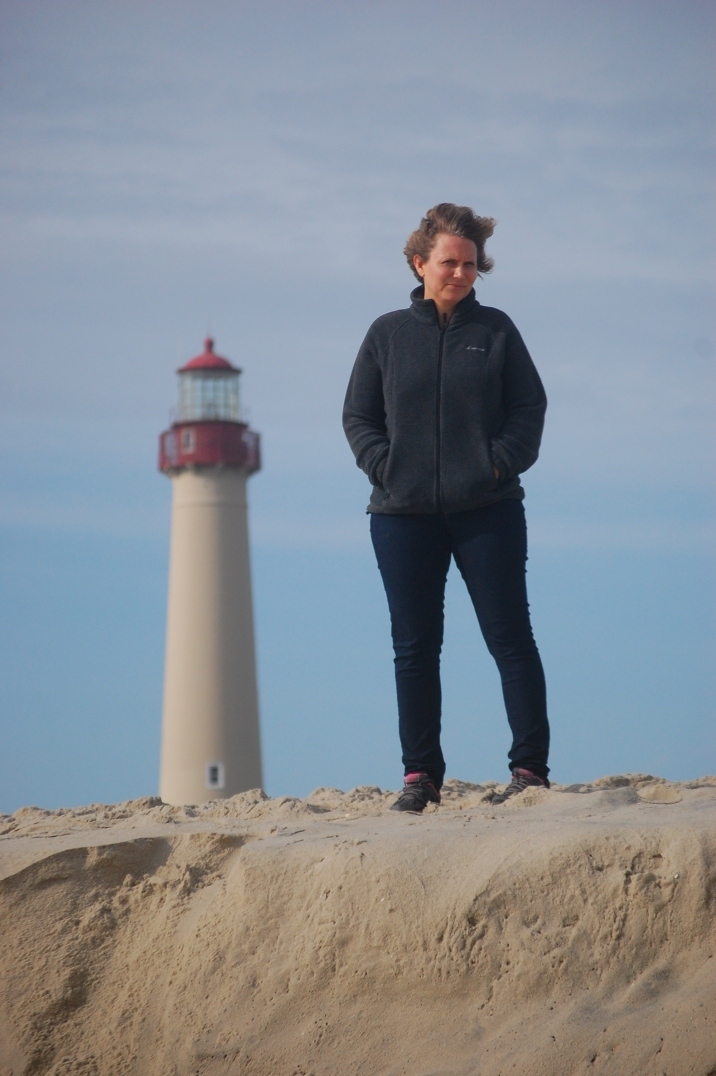 Self-Portrait with Light House.