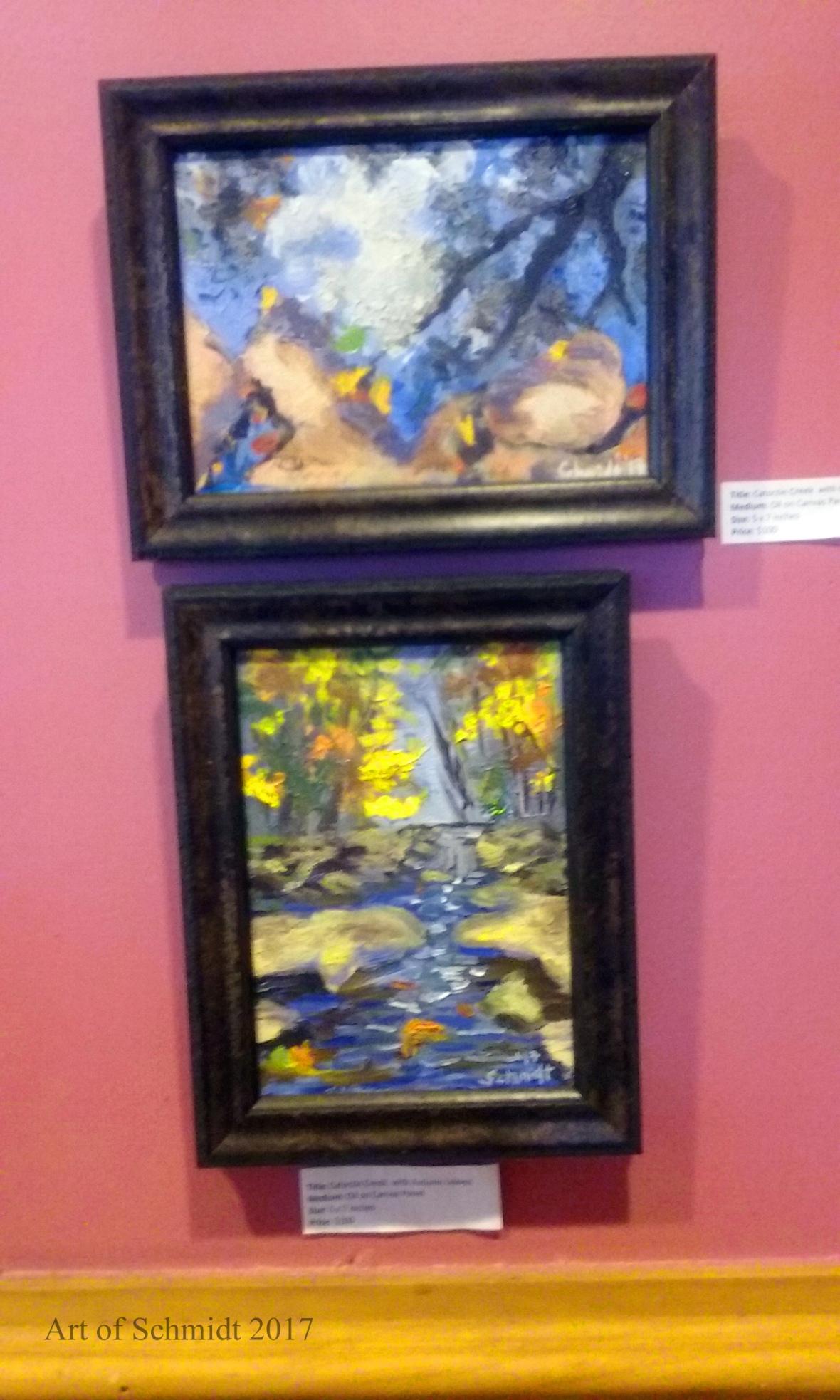 Bollinger's Art Exhibit, flat