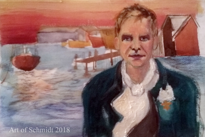 portrait of Sting