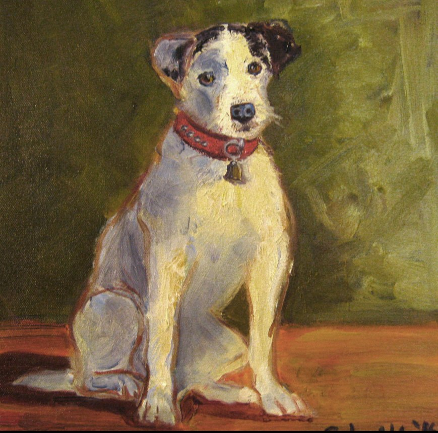 Jack Russell Terrier dog art