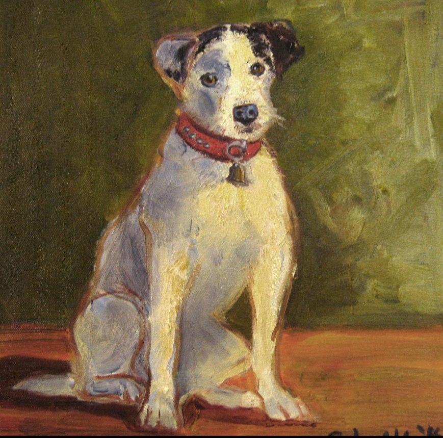 Jack Russell Terrier dog art