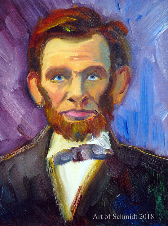 Abraham Lincoln 3, flat