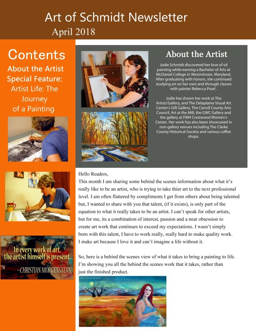 Art of Schmidt Newsletter, August 2018, final, flat, 1